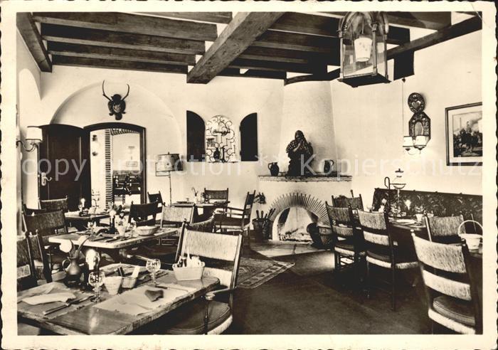 Deidesheim Gasthaus zur Kanne Speisesaal Kat. Deidesheim
