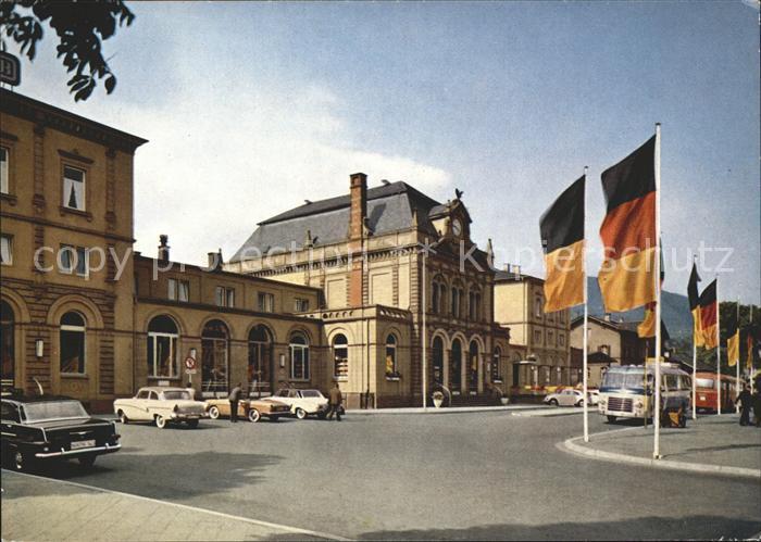 Neustadt Weinstrasse Bahnhof Kat. Neustadt an der Weinstr.