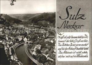 Sulz Neckar am Neckar Kat. Sulz am Neckar