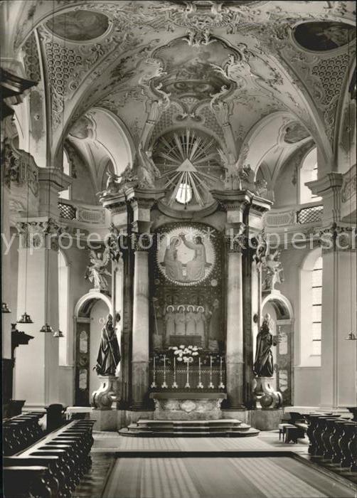 Beuron Donautal Chor der Kirche / Beuron /Sigmaringen LKR