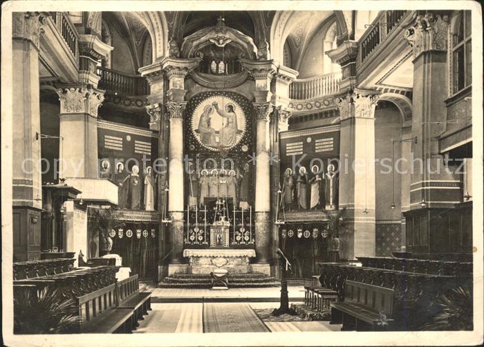 Beuron Donautal Erzabtei Chor der Kirche / Beuron /Sigmaringen LKR