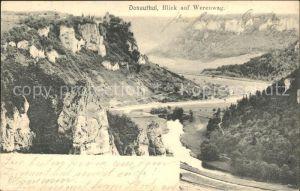 Schloss Werenwag mit Donau Kat. Beuron