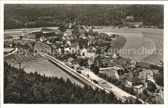 Beuron Donautal Blick von Leipoldshoehe / Beuron /Sigmaringen LKR