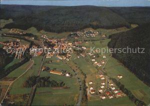Klosterreichenbach Fliegeraufnahme Klostergasthof Hotel Sonne Post Kat. Baiersbronn