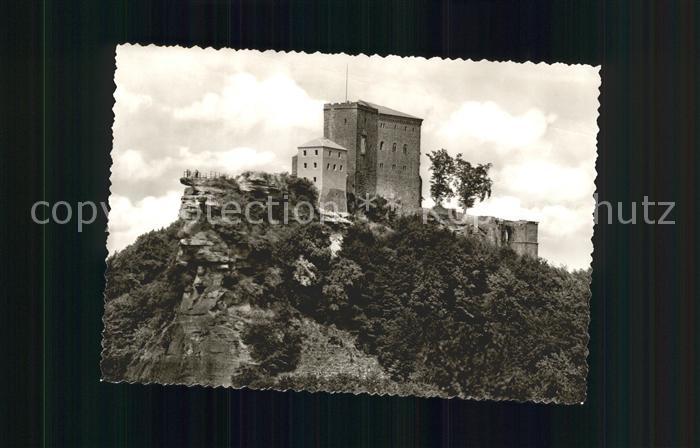 Annweiler Trifels Burg Trifels / Annweiler am Trifels /Suedliche Weinstrasse LKR