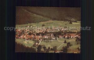 Klosterreichenbach Fliegeraufnahme Hotel Pension Sonne Post Kat. Baiersbronn