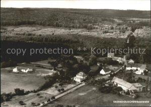 Kreershaeuschen Fliegeraufnahme Hotel Pension Haus Hubertus Kat. Winterbach