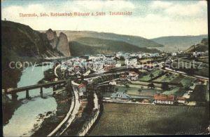 Bad Muenster Stein Ebernburg Nahepartie Bruecke Gesamtansicht / Bad Muenster am Stein-Ebernburg /Bad Kreuznach LKR