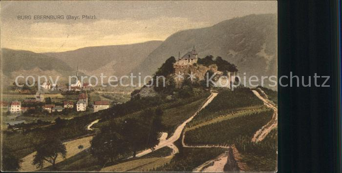 Ebernburg Burg Ebernburg Kat. Bad Muenster am Stein Ebernburg
