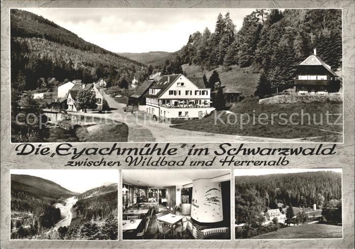 Eyachmuehle Gasthaus Pension zwischen Wildbad und Herrenalb Kat. Dobel