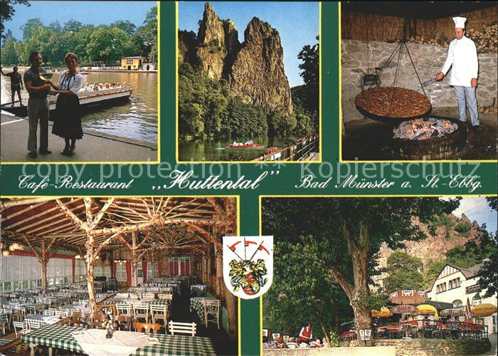 Bad Muenster Stein Ebernburg Cafe Restaurant Huttental Grillstation Felsen  / Bad Muenster am Stein-Ebernburg /Bad Kreuznach LKR