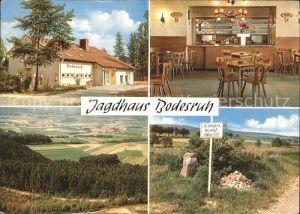Kleinensee Jagdhaus Bodesruh Kat. Heringen (Werra)