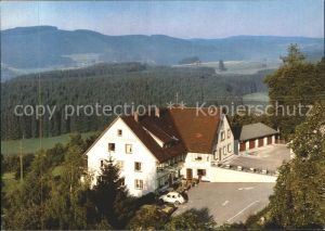 Kappel Lenzkirch Gasthaus Pension Straub Kat. Lenzkirch