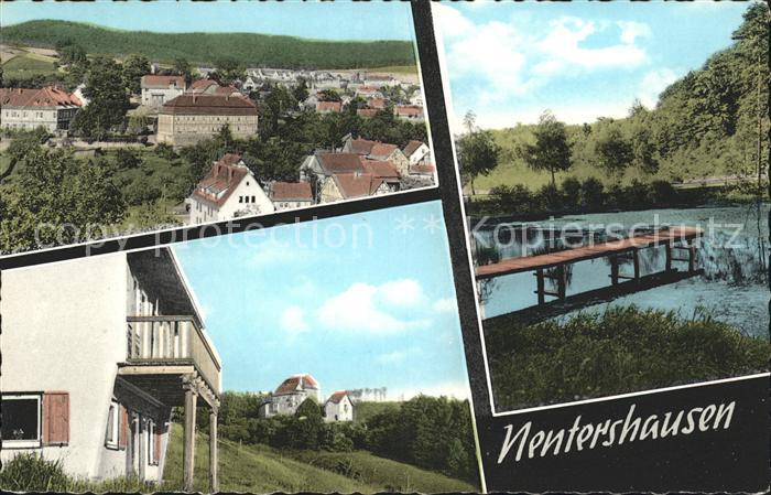 Nentershausen Hessen Balkon Dorf Waldstueck / Nentershausen /Hersfeld-Rotenburg LKR