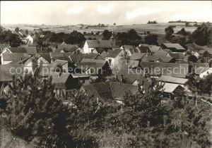 Erfeld Dorfansicht von oben Kat. Hardheim