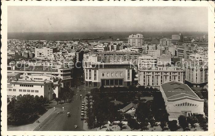 Casablanca Vue de la Poste Avenue Amade  Kat. Casablanca