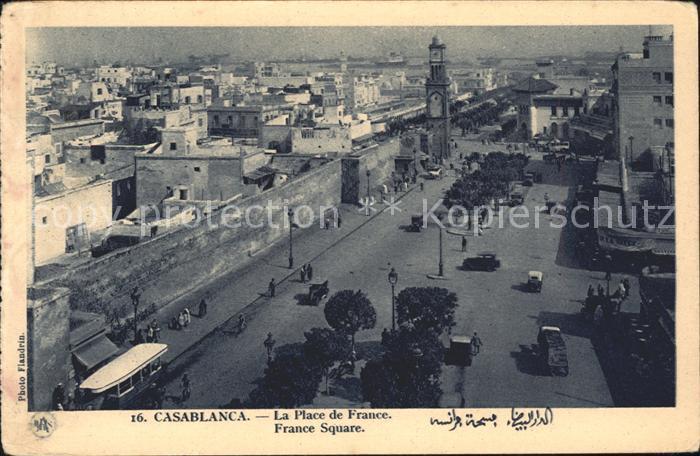 Casablanca La Place de France  Kat. Casablanca