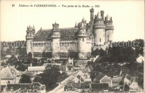 Pierrefonds Oise Chateau  Kat. Pierrefonds