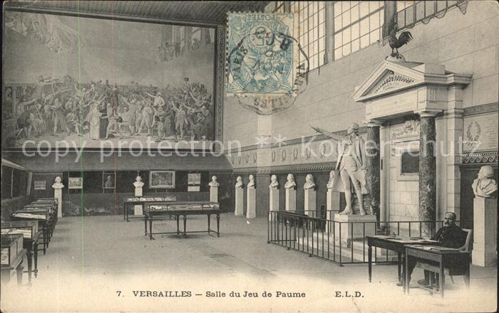 Versailles Yvelines Salle du Jeu de Paume Kat. Versailles