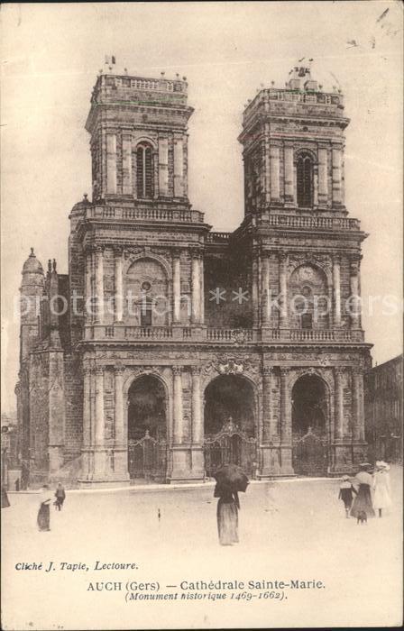 Auch Gers Cathedrale Sainte Marie Kat. Auch