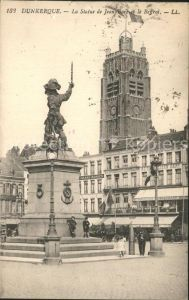 Dunkerque Statue de Jean B. Kat. Dunkerque