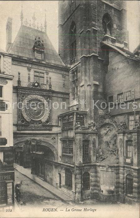 Rouen La Grosse Horloge Kat. Rouen