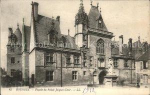Bourges Facade du Palais Jacques C. Kat. Bourges