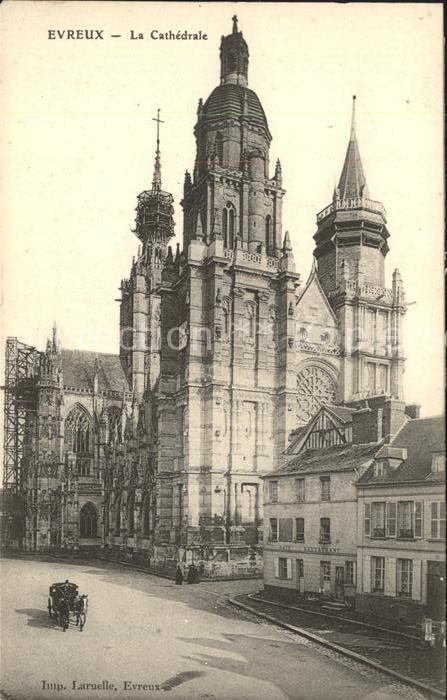 Evreux La Cathedrale Kat. Evreux