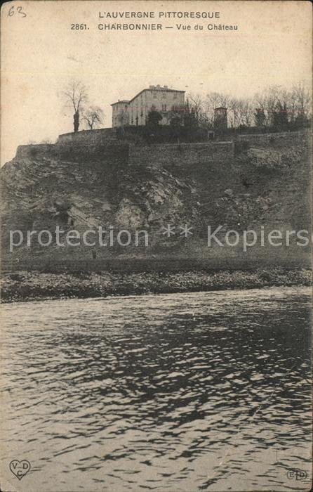 Charbonnier les Mines Auvergne Pittoresque Kat. Charbonnier les Mines