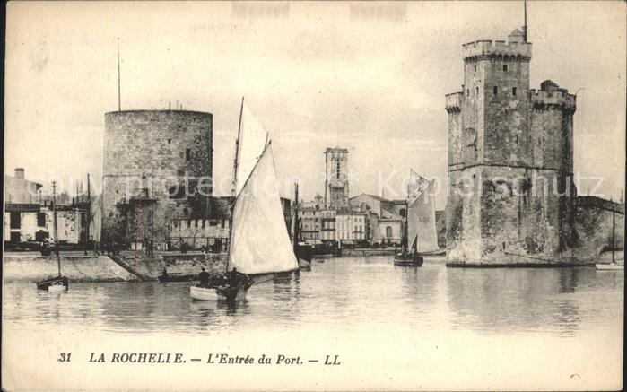 La Rochelle Charente Maritime Entree du Port Kat. La Rochelle
