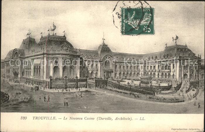 Trouville Havre Le Nouveau Casino Kat. Trouville