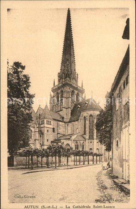 Autun La Cathedrale Saint Lazare Kat. Autun