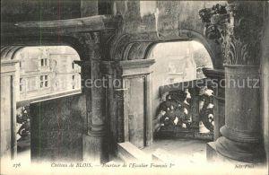 Blois Loir et Cher Chateau de Blois Kat. Blois