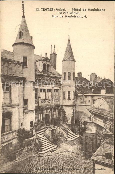 Troyes Aube Hotel de vauluisant Kat. Troyes