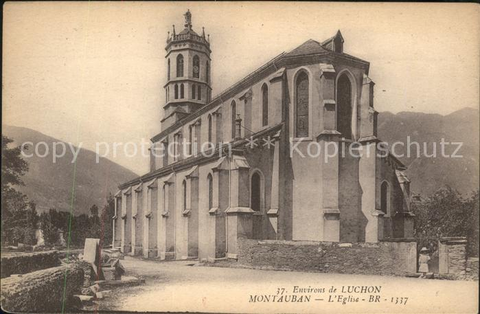 Montauban Eglise Kat. Montauban