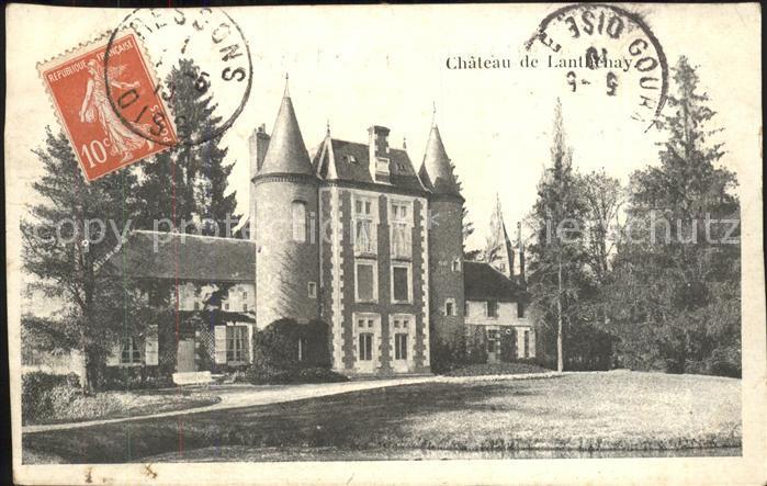 Romorantin Lanthenay Chateau de Lanthenay Kat. Romorantin Lanthenay
