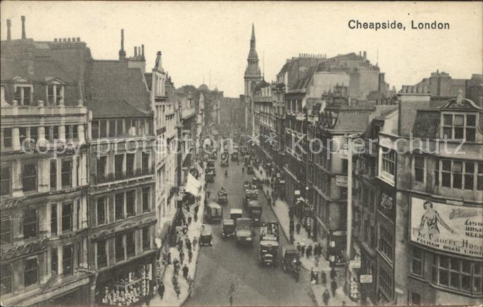 London Cheapside Kat. City of London