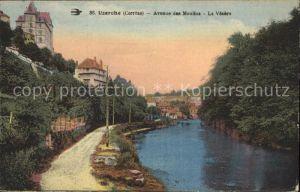 Uzerche Avenue des Moulins La Vezere Kat. Uzerche