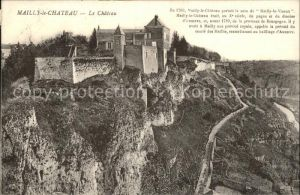 Mailly le Chateau Le Chateau Histoire Kat. Mailly le Chateau