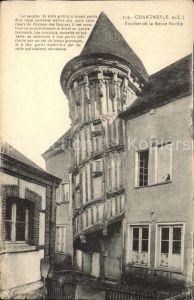 Chartres Eure et Loir Escalier de la Reine Berthe Histoire Kat. Chartres