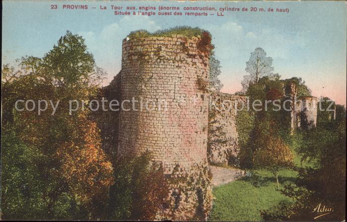 Provins Tour ancienne fortifications Kat. Provins