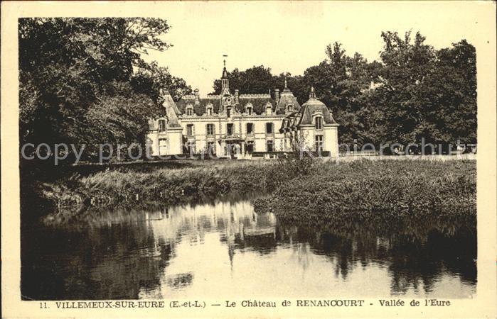 Villemeux sur Eure Chateau de Renancourt Etang Kat. Villemeux sur Eure