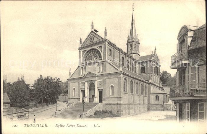 Trouville sur Mer Eglise Notre Dame Kat. Trouville sur Mer