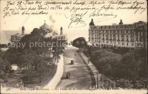 Nice Alpes Maritimes Palais de la Jetee Promenade et Hotel Ruhl Kat. Nice