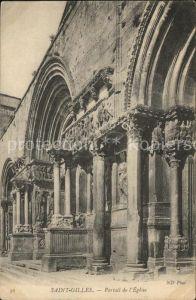 Saint Gilles Gard Portail de l Eglise Kat. Saint Gilles