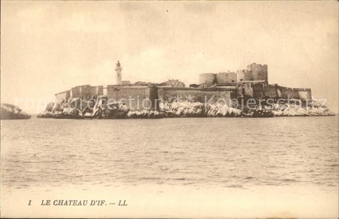 Ile d If Chateau d If Kat. Marseille
