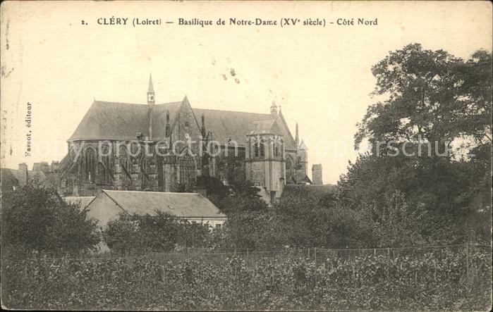 Clery Saint Andre Basilique de Notre Dame XV siecle Kat. Clery Saint Andre