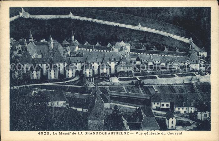 Saint Pierre de Chartreuse Isere Le Massif de la Grande Chartreuse Couvent Kat. Saint Pierre de Chartreuse