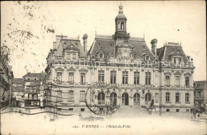 Vannes Hotel de Ville Kat. Vannes
