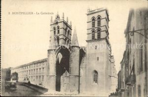 Montpellier Herault Cathedrale Kat. Montpellier